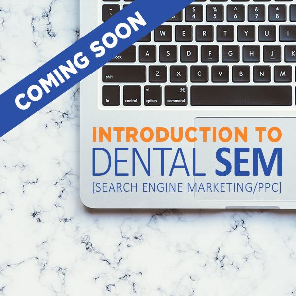 Dental SEM course